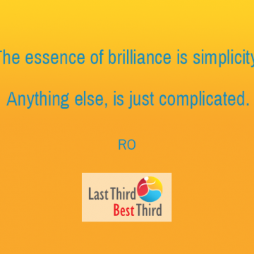 RO: the Essence of Brilliance is simplicity