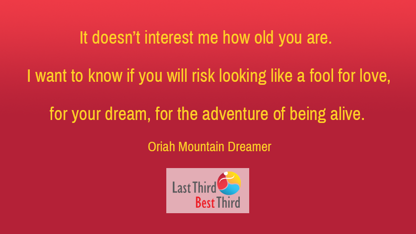 Quote from Oriah Mountain Dreamer