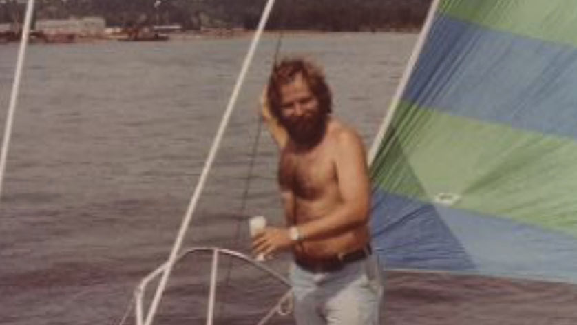 Remembering Steve Life on His Boat