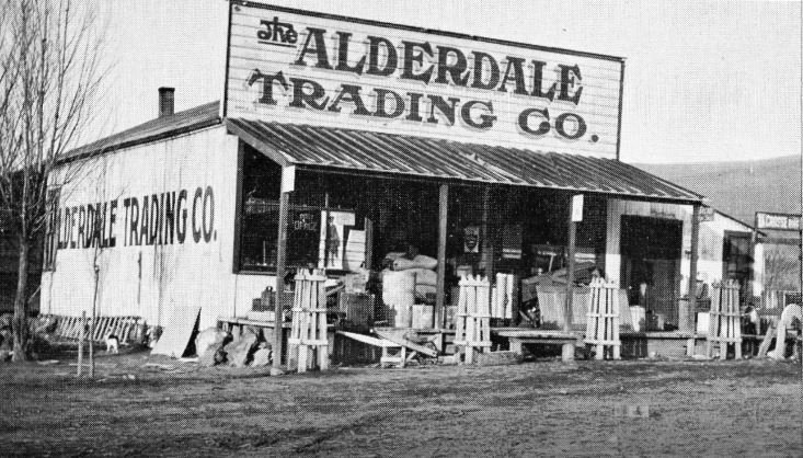 Alderdale Trading Company store and sign up top