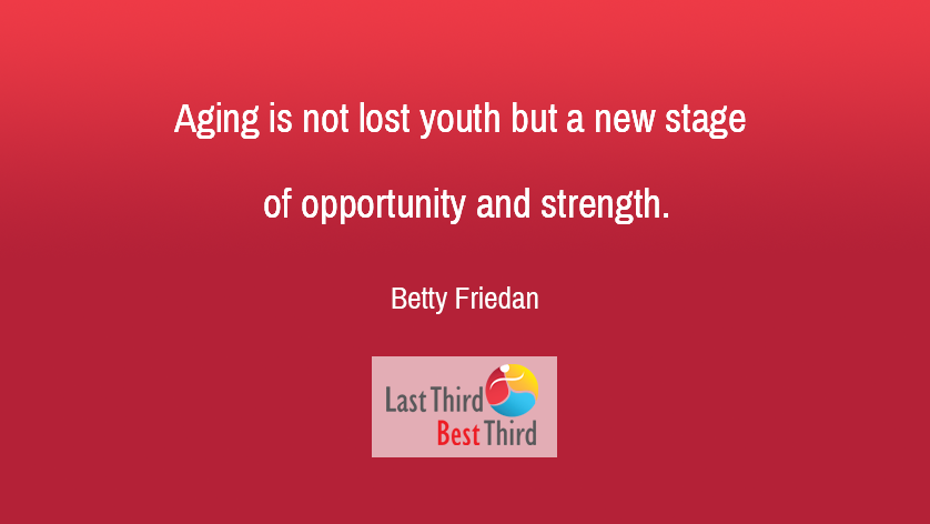 Betty Friedan - Aging Is Not Lost
