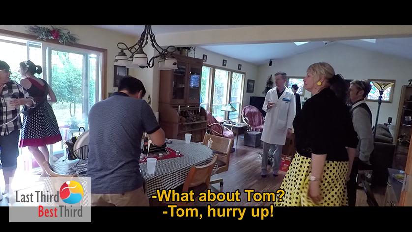 2 Dinner to Die For Murder Mystery Dinner - Tom Hurry Up