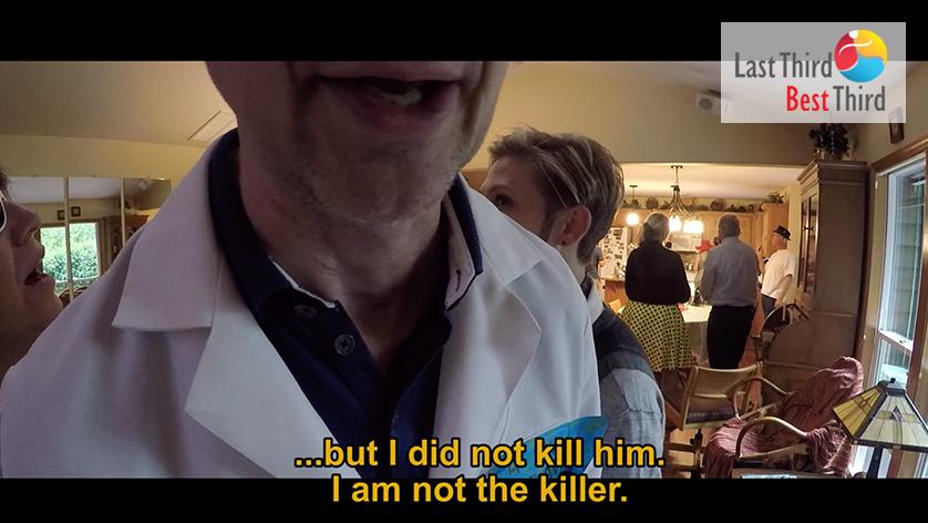 6 Dinner to Die For Murder Mystery Dinner - Russian rocket scientist Ivan Sputnik