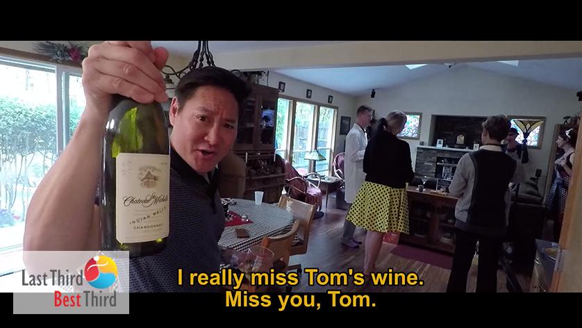 7 Dinner to Die For Murder Mystery Dinner - Miss you Tom