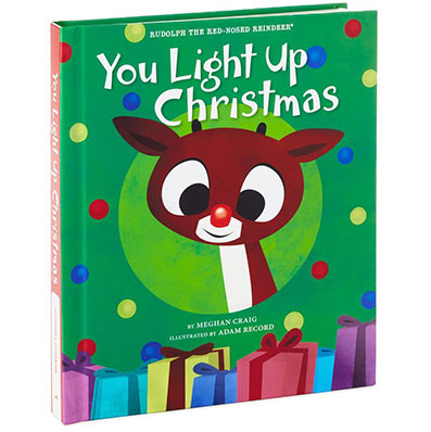 Rudolph the Red-Nosed Reindeer You Light Up Christmas Recordable Book