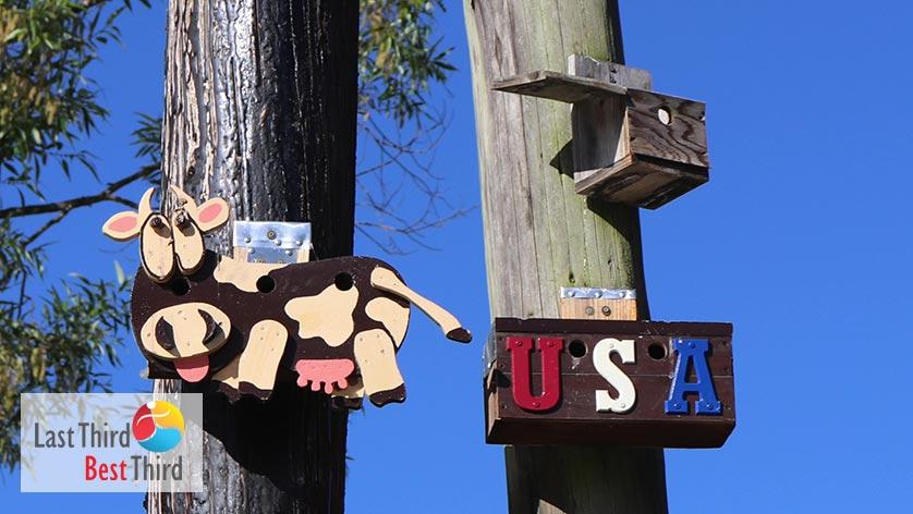 Birdhouses-of-Ridgefield-WA-Cow-and-USA
