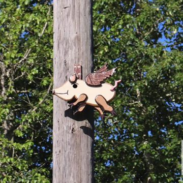 Birdhouses-of-Ridgefield-WA-Flying-Pig