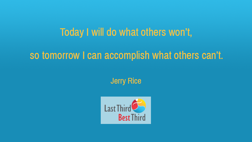 Jerry Rice - Today I Will Do
