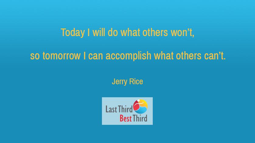 Jerry Rice - Today I Will Do
