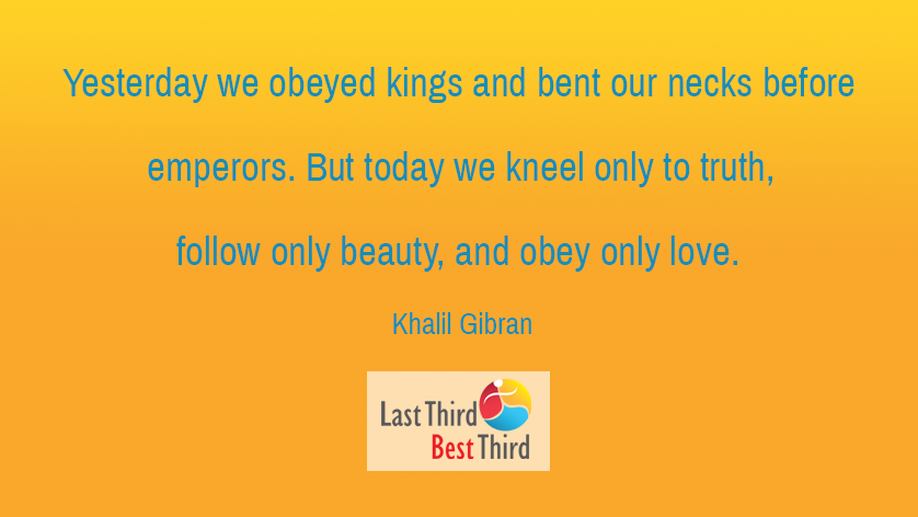 Khalil Gibran - Yesterday We Obeyed