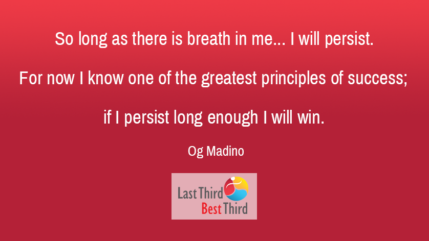 Og Madino - If I Persist