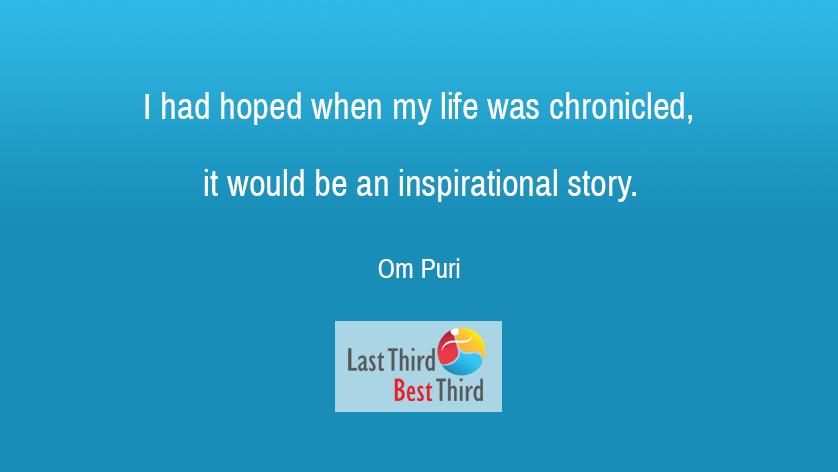Om Puri - I Had Hoped
