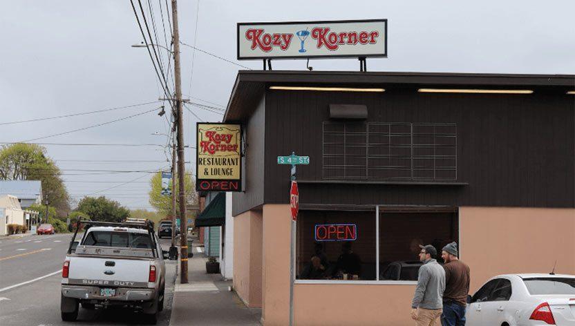 Kozy Korner Restaurant 371 Columbia Blvd